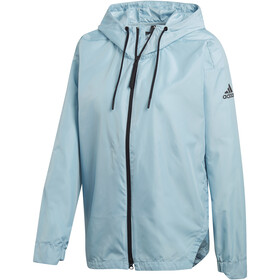 adidas TERREX Urban CS Jacket Women blue